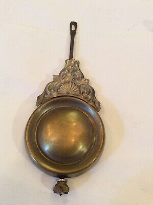 Good Antique American Clock Ornate Pendulum A4