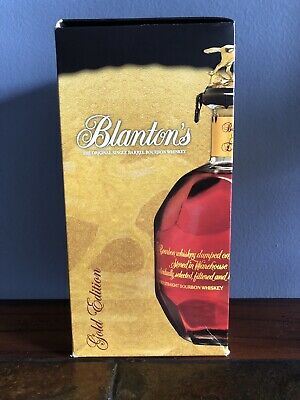 Blanton's Gold Edition Box Only