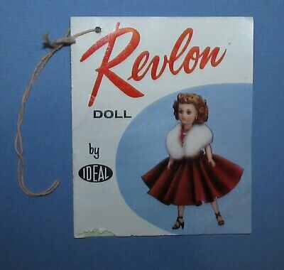 """Vintage 1950's Ideal Revlon Original Hang Tag Booklet for the 18"""" and 20"""" Doll!"""