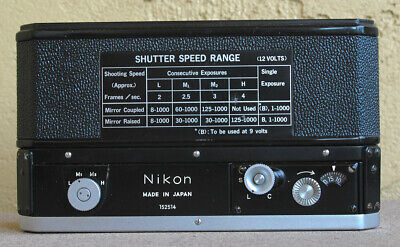 Nikon F36 Motor Drive for F-36 - working and in EXC condition circa 1972