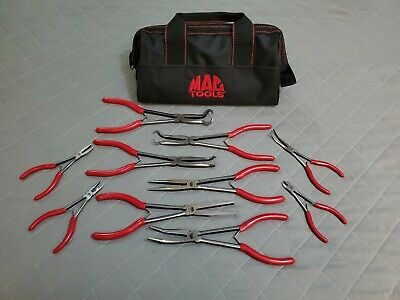 MAC TOOLS 10-Piece LONG REACH PLIER Set
