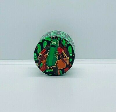 40mm 4-piece (3 chamber) Rick and Morty Tobacco Herb Grinder- FAST SHIPPING - S2