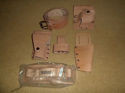 New Excellent Quality Scaffolders Tool Work Belt Tan Leather Connell Roebuck