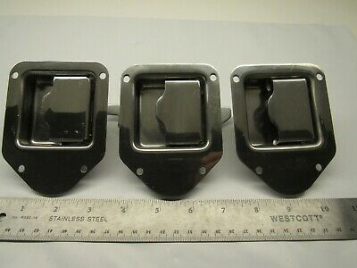 Toolbox Latch Teardrop Stainless 8000SSN Non-Locking (Lot of 3) FREE SHIPPING