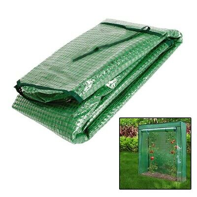 Tomato Growbag Growhouse Mini Outdoor Garden Greenhouse PVC Cover Roll Up Zip