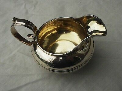 1825 excellent Georgian silver YORK cream jug by Barber, Cattle and North
