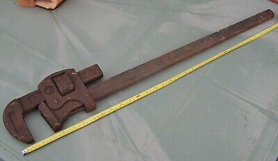 Record 36  Stilson Pipe Wrench Drop Forged Steel