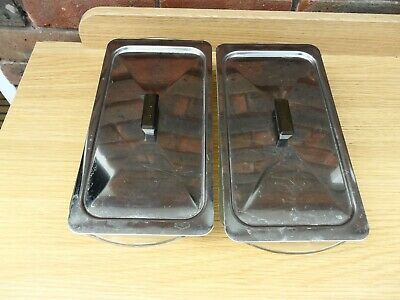 2 X Hostess Trolley Dishes & Lids  from Ekco  HO 33