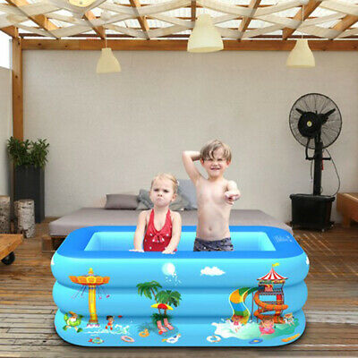 Large Paddling Garden Pool Kids Family  Above Ground Swimming Outdoor Inflatable