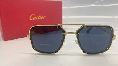 Cartier CT0194S High Quality Men's and Women's Classic Toad Square Sunglasses