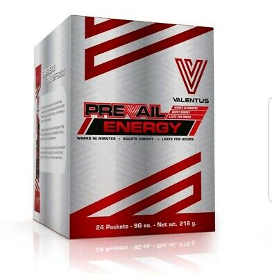 Valentus Prevail Energy - 24 sachets = 1 month supply