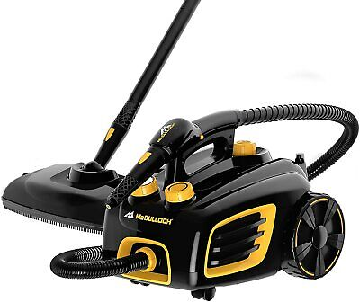 Mcculloch Mc1375 Canister Steam Cleaner 20 Accessories Extra Long Power Sweep