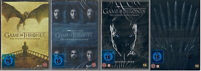 Game of Thrones Staffel 5-8 DVD Set (5+6+7+8, 5 bis 8) NEU OVP