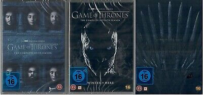 Game of Thrones Staffel 6-8 DVD Set (6+7+8, 6 bis 8) NEU OVP