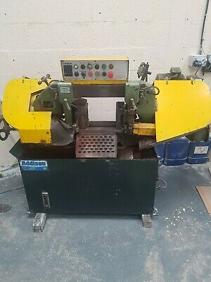 Addison Industrial Automatic Metal Cutting Bandsaw 250mm