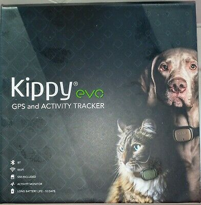 Kippy EVO, GPS and Activity Monitor for Dogs and Cats, Waterproof, Pink