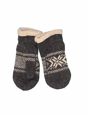Natural Reflections Women Gray Mittens One Size