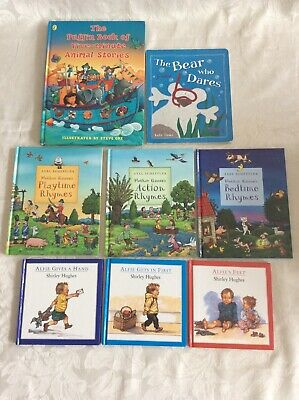 Hardback children's books incl Shirley Hughes Alfie books, Axel Scheffler books