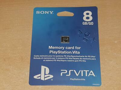 Official Sony Playstation Vita 8GB Memory Card PSVita **BRAND NEW & SEALED**