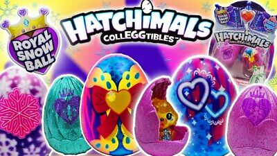 Hatchimals CollEGGtibles 6 Pack Shell Sapphire Springs Figures Eggs Case Set