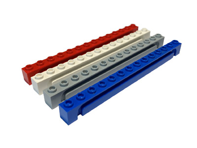 LEGO 11211 Brick Modified 1 x 2 with Studs on 1 SideVarious Colours