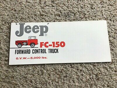 1960  Jeep FC-150 Forward control truck, sales mailer