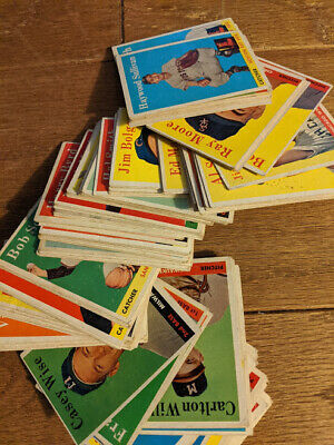 1958 Topps Baseball Cards, Over 100 commons