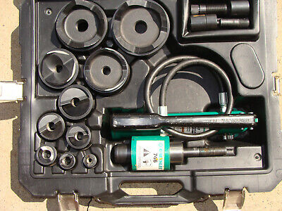 GREENLEE 7310SB KNOCKOUT PUNCH SET *xxxcond* NR