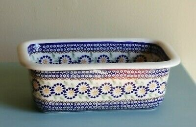 Handmade Polish Pottery Bakers Dish