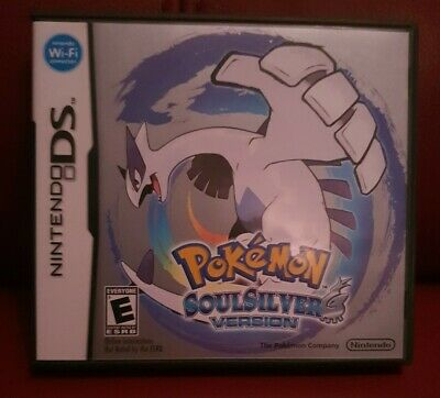 Pokemon Soul Silver Nintendo Ds Box and Manual No Game Included
