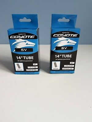 2 x IGNITE 12 INCH INNER BICYCLE TUBE TUBES 1.75-2.125 MOUNTAIN BIKE SCHRADER