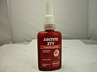 "LOCTITE, Threadlocker, High strength (fastener to 1""), p/n 27131 (EXP 08/19)"