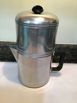 Vintage Drip-O Lator Aluminum 8 Cup Coffee Maker Camping