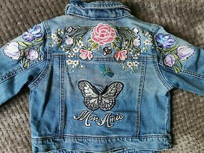 Girls next denim jacket 3-4