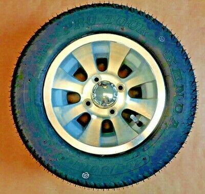 Brand New E-Z-Go Golf Cart 10'' Wheels With Tires