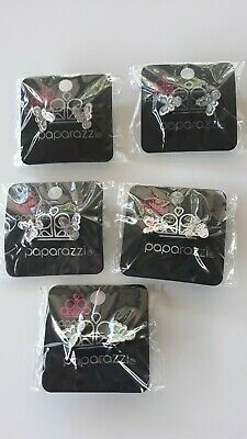 Paparazzi Starlet Shimmer Set of 5 Assorted Butterfly Post Earrings