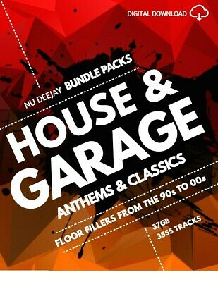 House & Garage: Anthems & Classics Bundle Pack MP3 files - Digital Download