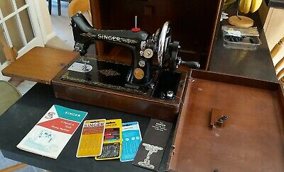 Vintage Singer 99K Hand Crank Sewing Machine