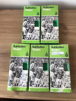 SUBBUTEO HW/LW EMPTY BOXES WITH REFERENCE STICKERS (x5)