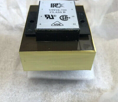 New Parallax Power Components Transformer Model Vpp28-720 (10 Available)