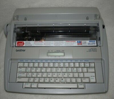 Brother Correctronic GX 8250 Electric Typewriter (works)