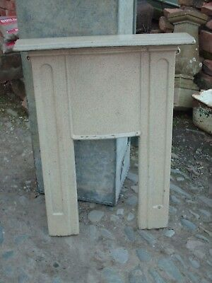 Art Deco Cast Iron  Fireplace