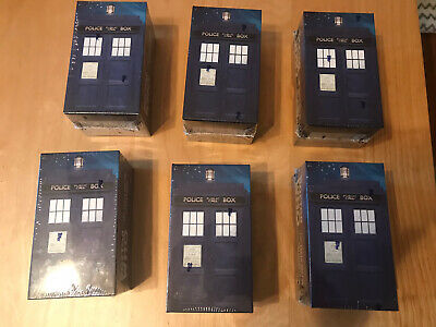 (6) Doctor Who The Tenth Adventures Sealed Topps Widesvision Set 2 Autos Per Set