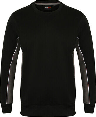 RW4159 Finden /& Hales Mens Long Sleeve Sports Warm-up Drill Top//Pullover