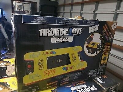 Arcade 1 Up Pacman Head To Head 8 in 1 Arcade Game Table Brand New