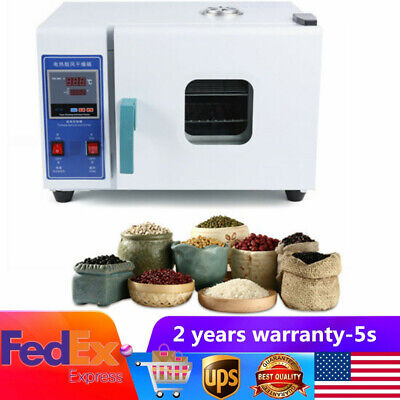 NEW Lab Digital Electrothermal Drying Oven Constant-Temperature Incubator US