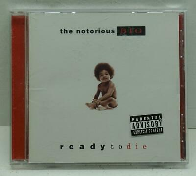 THE NOTORIOUS B.I.G. Ready To Die CD Explicit 1994 Original Pressing Classic