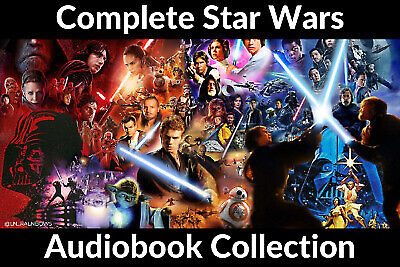 Star Wars BooK and Audiobook Collection 📧 Email Delivery 📧