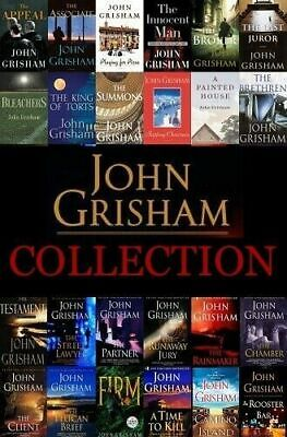 Complete John Grisham Audiobooks Collection 📧 Email Delivery 📧
