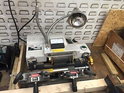SKS Cyclone Dual Purpose Key Cutting Machine New Blades Just Fitted